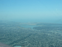 Oakland International Airport (sort of hazy in the distance)